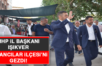 MHP İl Başkanı Işıkver, Kovancılar İlçesi'ni Gezdi