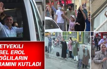 Milletvekili Gürsel Erol, Elazığlı Vatandaşların Bayramını Kutladı