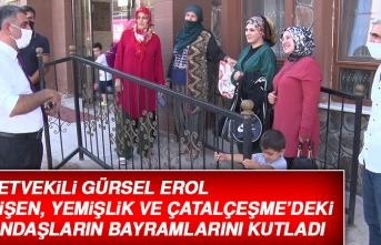 Milletvekili Gürsel Erol, TOKİ Konutlarındaki Vatandaşların Bayramlarını Kutladı