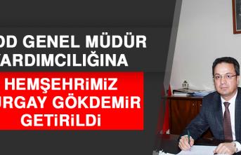 TCDD Genel Müdür Yardımcılığına Hemşehrimiz Turgay Gökdemir Getirildi