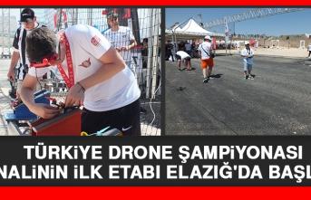 Türkiye Drone Şampiyonası Finalinin İlk Etabı Elazığ'da Başladı