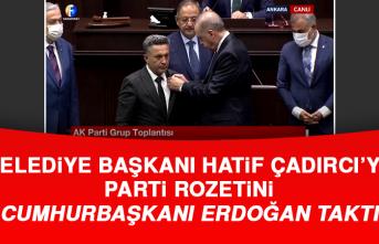 Yazıkonak Belediye Başkanı Çadırcı, AK Partiye Geçti