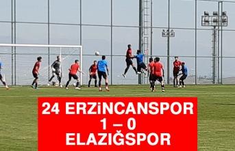24 Erzincanspor 1 – 0 Elazığspor