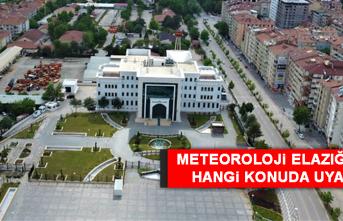 27 Ağustos'ta Elazığ'da Hava Durumu Nasıl Olacak?