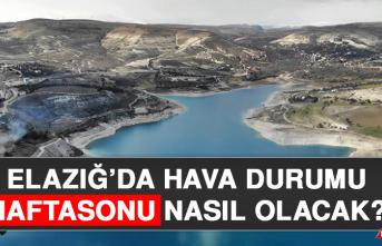28 Ağustos'ta Elazığ'da Hava Durumu Nasıl Olacak?