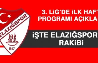 3. Lig'de İlk Hafta Programı Açıklandı