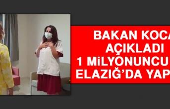 Bakan Koca Açıkladı, 1 Milyonuncu Aşı Elazığ'da Yapıldı