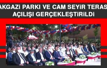 Balakgazi Parkı ve Cam Seyir Terası'nın Açılışı Gerçekleştirildi