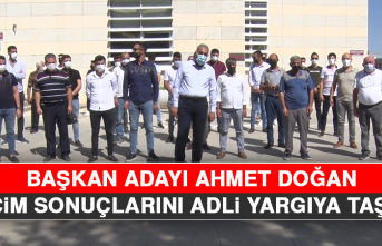 Başkan Adayı Ahmet Doğan, Seçim Sonuçlarını Adli Yargıya Taşıdı