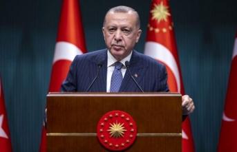 Cumhurbaşkanı Erdoğan Gündeme İlişkin Açıklamalarda Bulundu