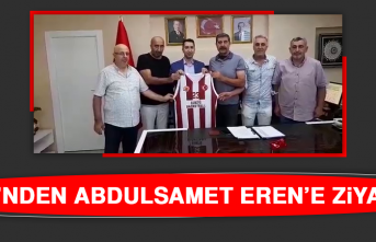 EBK'nden Abdulsamet Eren'e Ziyaret
