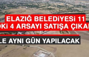 Elazığ Belediyesi 11, TOKİ 4 Arsayı Satışa Çıkardı