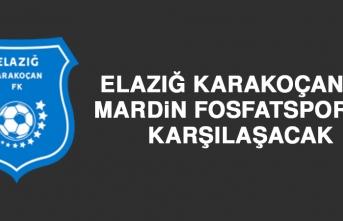 Elazığ Karakoçan FK, Mardin Fosfatspor'la Karşılaşacak