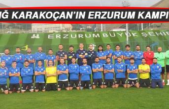 Elazığ Karakoçan'ın Erzurum Kampı Bitti