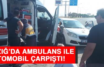 Elazığ'da Ambulans İle Otomobil Çarpıştı: 1 Yaralı