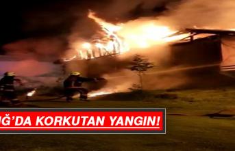 Elazığ'da Korkutan Yangın