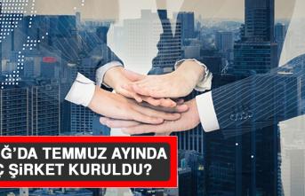 Elazığ'da Temmuz Ayında Kaç Şirket Kuruldu?