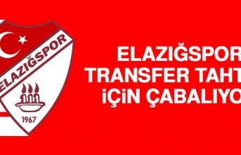 Elazığspor, Transfer Tahtası İçin Çabalıyor