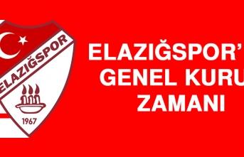 Elazığspor'da Genel Kurul Zamanı