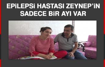 Epilepsi Hastası Zeynep'in Sadece Bir Ayı Var
