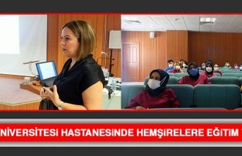 Fırat Üniversitesi Hastanesinde Hemşirelere Eğitim Verildi