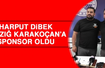 Harput Dibek, Elazığ Karakoçan'a Sponsor Oldu