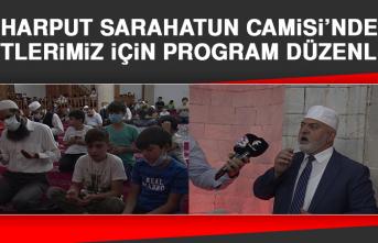 Harput Sarahatun Camisi'nde Şehitlerimiz İçin Program Düzenlendi