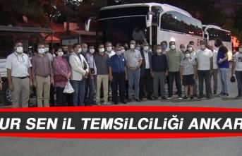 Memur Sen İl Temsilciliği Ankara'da