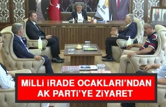 Milli İrade Ocakları'ndan AK Parti'ye Ziyaret