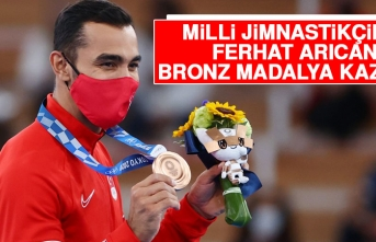 Milli Jimnastikçimiz Ferhat Arıcan Bronz Madalya Kazandı