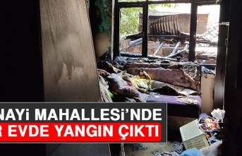 Sanayi Mahallesi'nde Bir Evde Yangın Çıktı