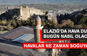 14 Eylül'de Elazığ'da Hava Durumu Nasıl Olacak?
