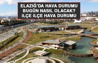 20 Eylül'de Elazığ'da Hava Durumu Nasıl Olacak?