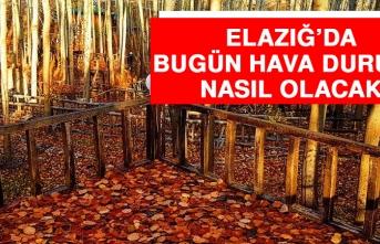 23 Eylül'de Elazığ'da Hava Durumu Nasıl Olacak?