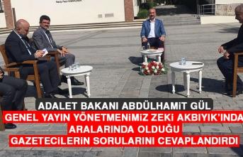"""Adalet Bakanı Abdülhamit Gül """"Anadolu Soruyor"""" Programının Konuğu Oldu"""