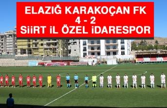 Elazığ Karakoçan FK 4 – 2 Siirt İl Özel İdarespor