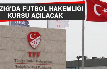 Elazığ'da Futbol Hakemliği Kursu Açılacak