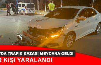 Elazığ'da Trafik Kazası Meydana Geldi, 2 Kişi Yaralandı