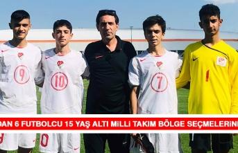 Elazığ'dan 6 Futbolcu 15 Yaş Altı Milli Takım Bölge Seçmelerine Katıldı