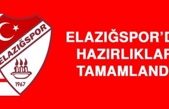 Elazığspor'da Hazırlıklar Tamamlandı