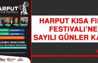 Harput Kısa Film Festivali'ne Sayılı Günler Kaldı