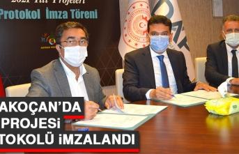 Karakoçan'da DAP Projesi Protokolü İmzalandı