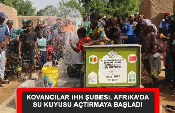 Kovancılar İHH Şubesi, Afrika'da Su Kuyusu Açtırmaya Başladı