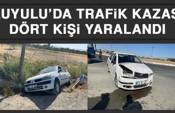 Kuyulu'da Trafik Kazası