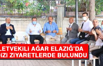 Milletvekili Ağar Elazığ'da Bir Dizi Ziyaretlerde Bulundu
