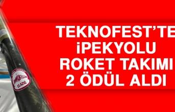 Teknofest'te İpekyolu Roket Takımı 2 Ödül Aldı