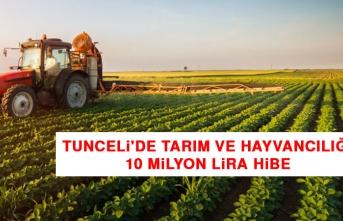 Tunceli'de Tarım ve Hayvancılığa 10 Milyon Lira Hibe