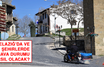 12 Ekim'de Elazığ'da Hava Durumu Nasıl Olacak?