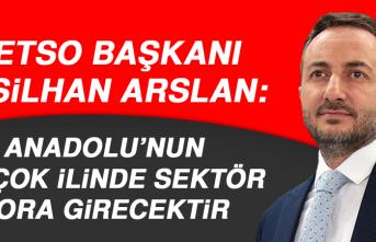 Başkan Arslan: Anadolu'nun Birçok İlinde Sektör Zora Girecektir