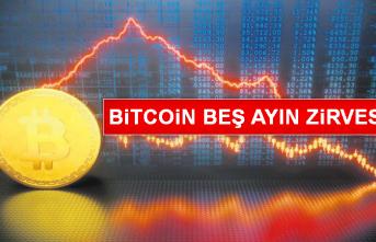 Bitcoin Beş Ayın Zirvesinde